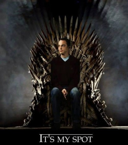 sheldon game of thrones