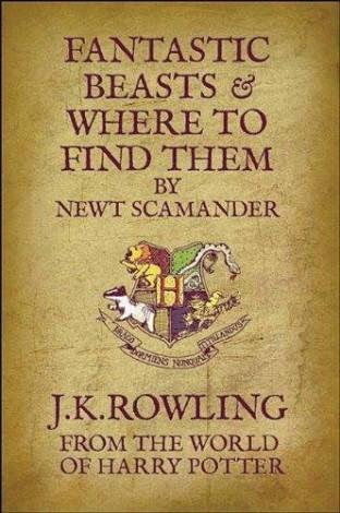 """Roman """"Animaux fantastiques"""" de J.K Rowling"""