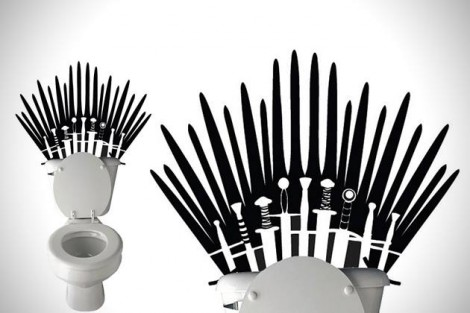 toilette game of thrones