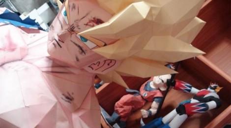 Un Sangoku grandeur nature en papier dans votre salon ?