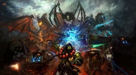 "Cinématique de ""Heroes of Storm"" : quand ""Starcraft"" rencontre ""Warcraft"" !"