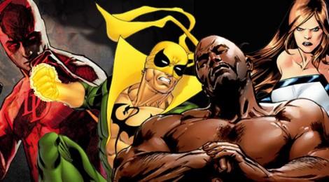 Pas une mais bien 4 séries Marvel sur Netflix !!!