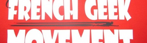 "Des tee-shirts ""French Geek Movement"" en vente !!!"