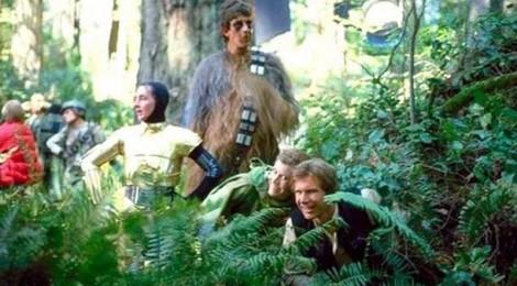 Star Wars : des photos inédites de tournage !
