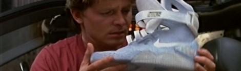 """Les Nike de """"Retour vers le futur II"""" en vente en 2015 !"""