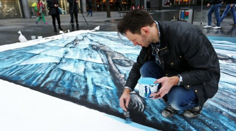 Du street art impressionnant pour Game of Thrones !