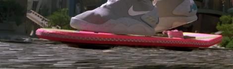 """L'hoverboard de """"Retour vers le futur"""" une réalité en 2014 !?"""