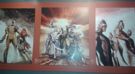 """Critique : Exposition """"L'art des super-héros Marvel"""""""