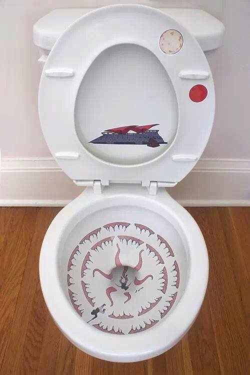 toilette star wars