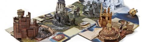 Le guide de Westeros : un livre pop-up impressionant !