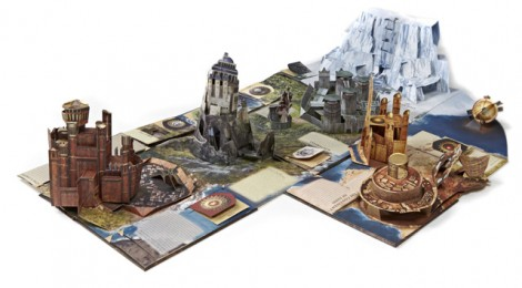 Le guide de Westeros : un livre pop-up impressionant !