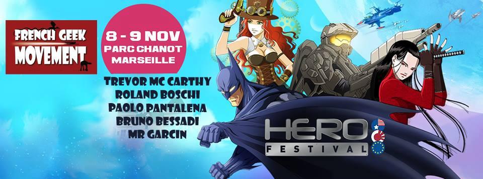 bannière herofestival fgm dédicace comics