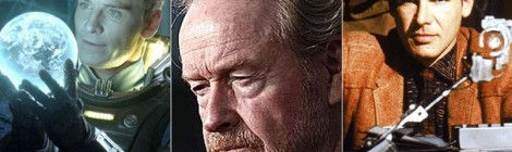 Ridley Scott prépare 3 gros films de science-fiction !