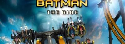 """Découvrez """"Batman The Ride"""" : une attraction qui retourne !"""