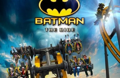 "Découvrez ""Batman The Ride"" : une attraction qui retourne !"