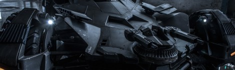 Un aperçu de la Batmobile ! Waouh !