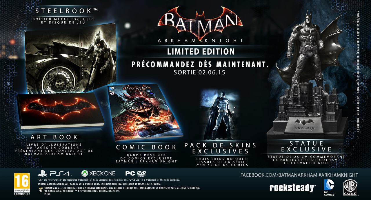 pack batman arkham knight 2