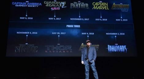 8 nouveaux films Marvel !!! Black Panther, Captain Marvel...