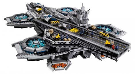 LEGO va commercialiser l'héliporteur du SHIELD !