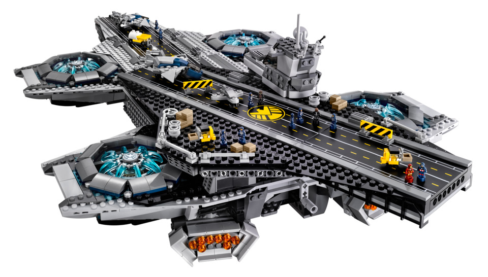 Commercialiser Du Geek Movement Lego Va ShieldFrench L'héliporteur wPZiTOkXu