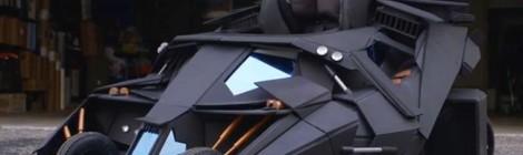 La poussette Batmobile ! Impressionnante !
