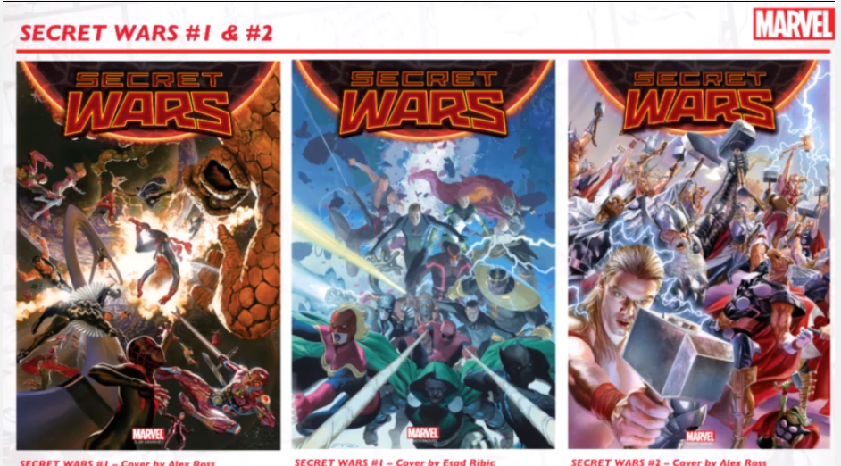 secret wars marvel