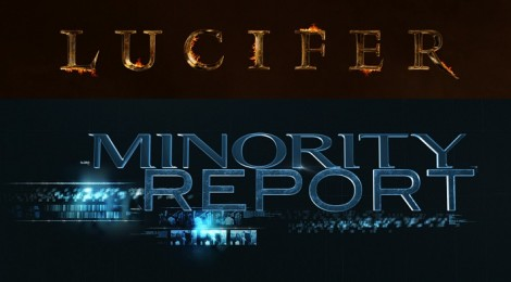 Lucifer et Minority Report : les nouvelles séries de la Fox !