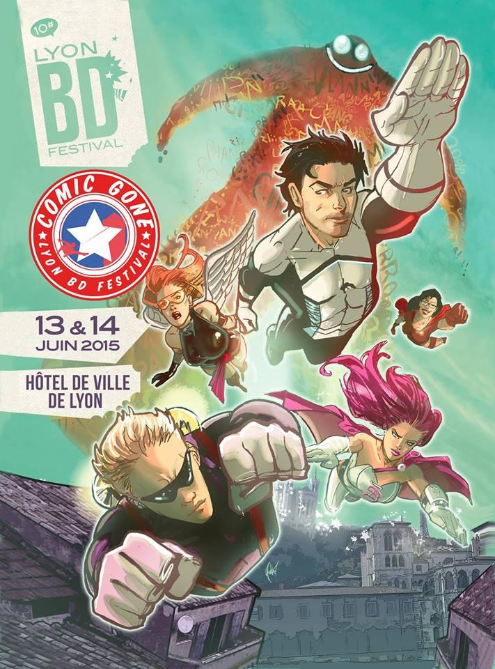 affiche comic'gone 2015