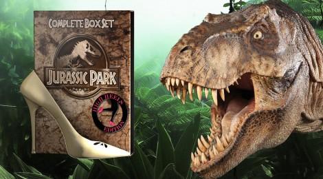 Jurassic Park : la saga en talon haut !