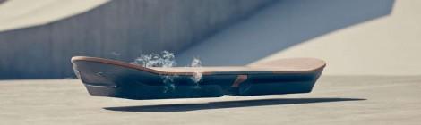 L'hoverboard de Lexus en démo !