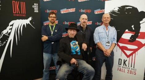 Frank Miller : la vedette de la New York Comic Con !