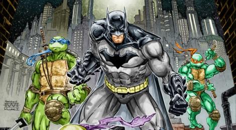 La rencontre entre Batman et les Tortues Ninja !