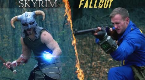 Skyrim VS Fallout !