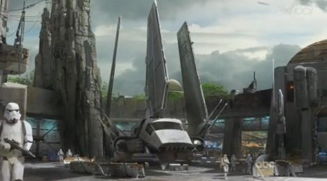Star Wars : Les premières images du parc d'attraction !