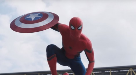 Spider-man dans l'ultime trailer de Civil War !