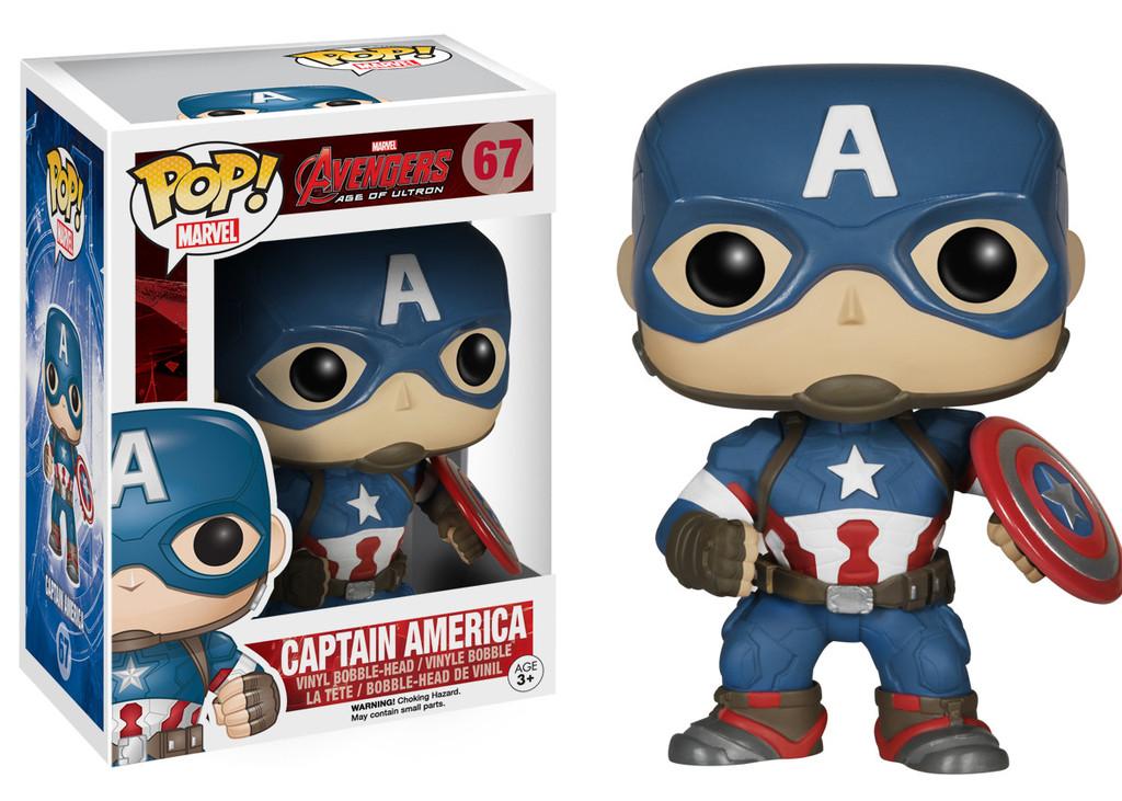 Captain_America Pop! funko