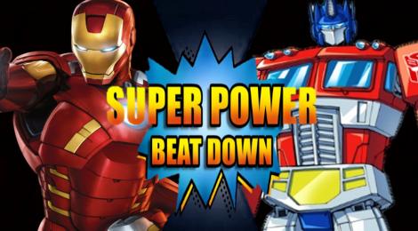 Iron Man vs Optimus Prime !