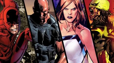 Netflix dévoile un teaser pour toutes ses séries Marvel !