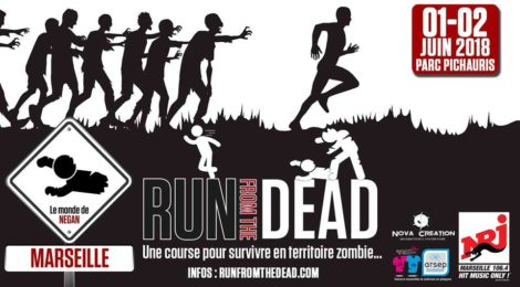"Gagnez des places ""Run from the Dead"" Aix-Marseille"