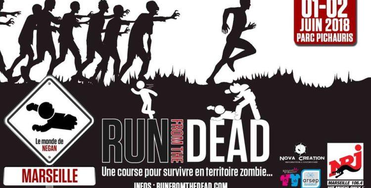 "Gagnez des places ""Run from the Dead"" Aix-Marseille"