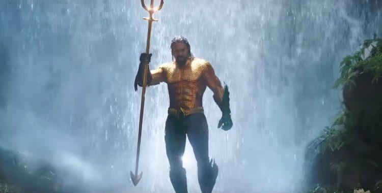 Aquaman : un long et impressionnant trailer de la NYCC !